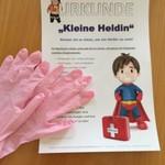 Erste Hilfe Kurs der Vorschulkinder