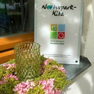 """Ausgezeichnet als """"Naturpark-Kita"""""""