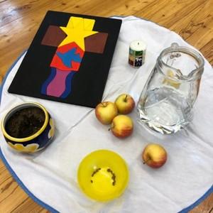 Anfangsandacht - Erntedankfest im Kindergarten