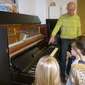 Gelungener Besuch in der Musikschule in Pfreimd